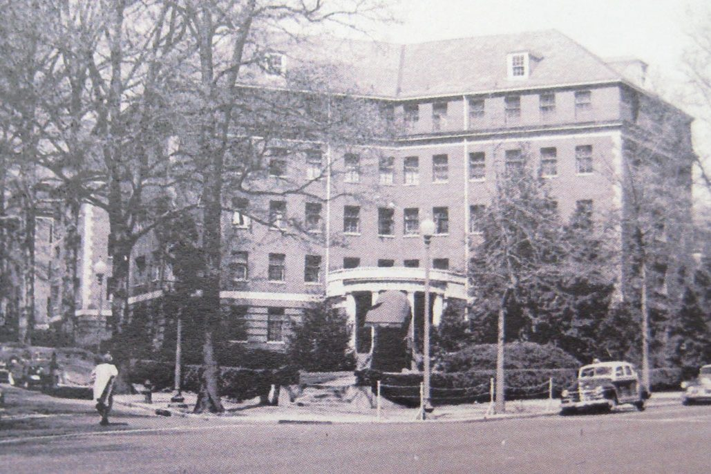 South Cathedral Mansions 1920s Exterior