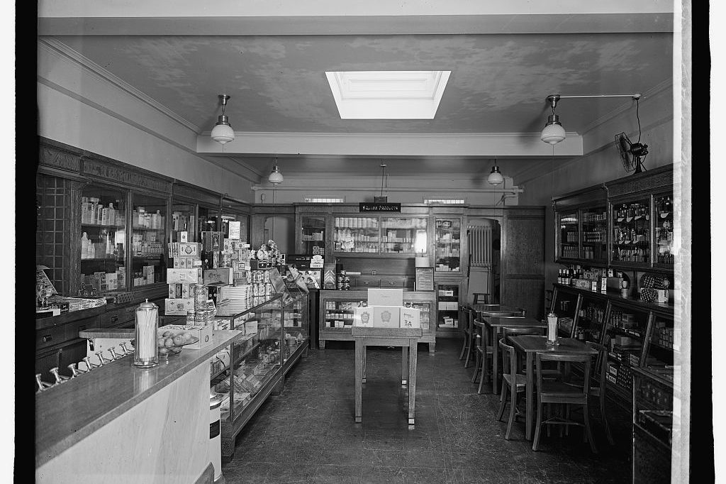South Cathedral Mansions Drug Store