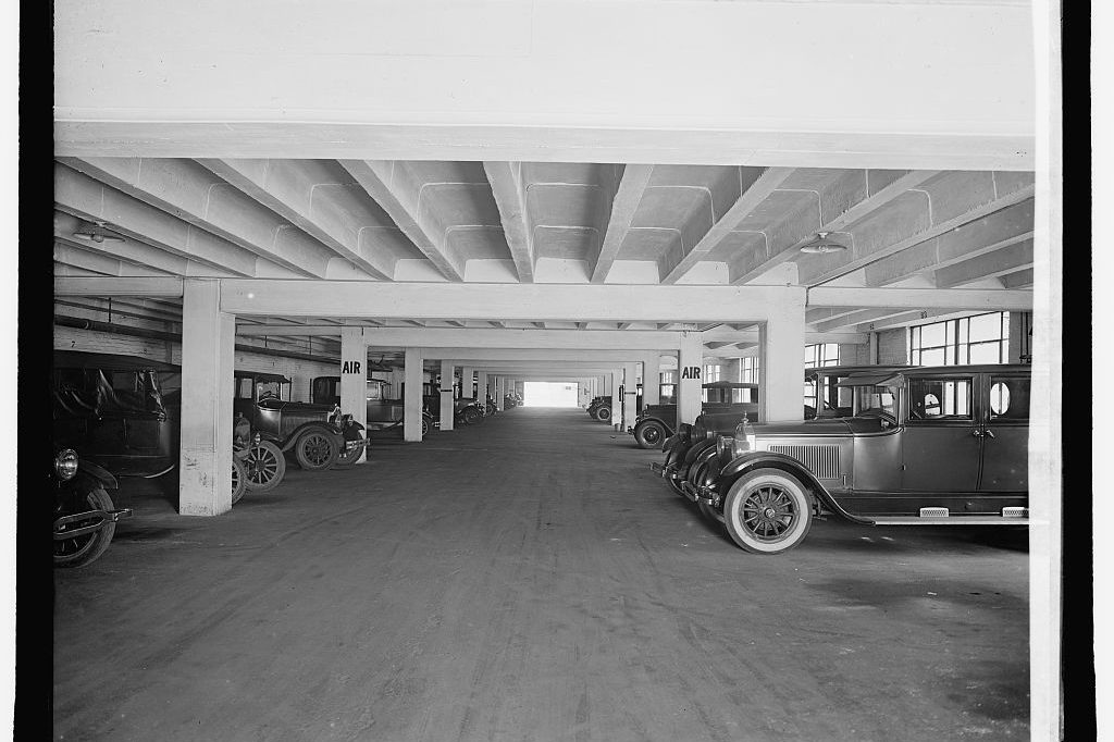 South Cathedral Mansions Garage